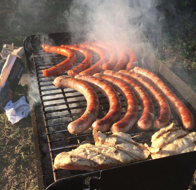 EZIT csapatépítő grill party