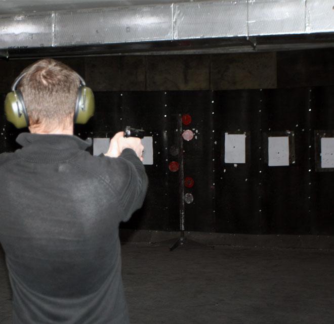 Csapatépítő a lőtéren